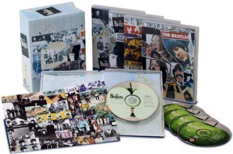 BEATLES: DVD ANTHOLOGY 5-DVD-Box