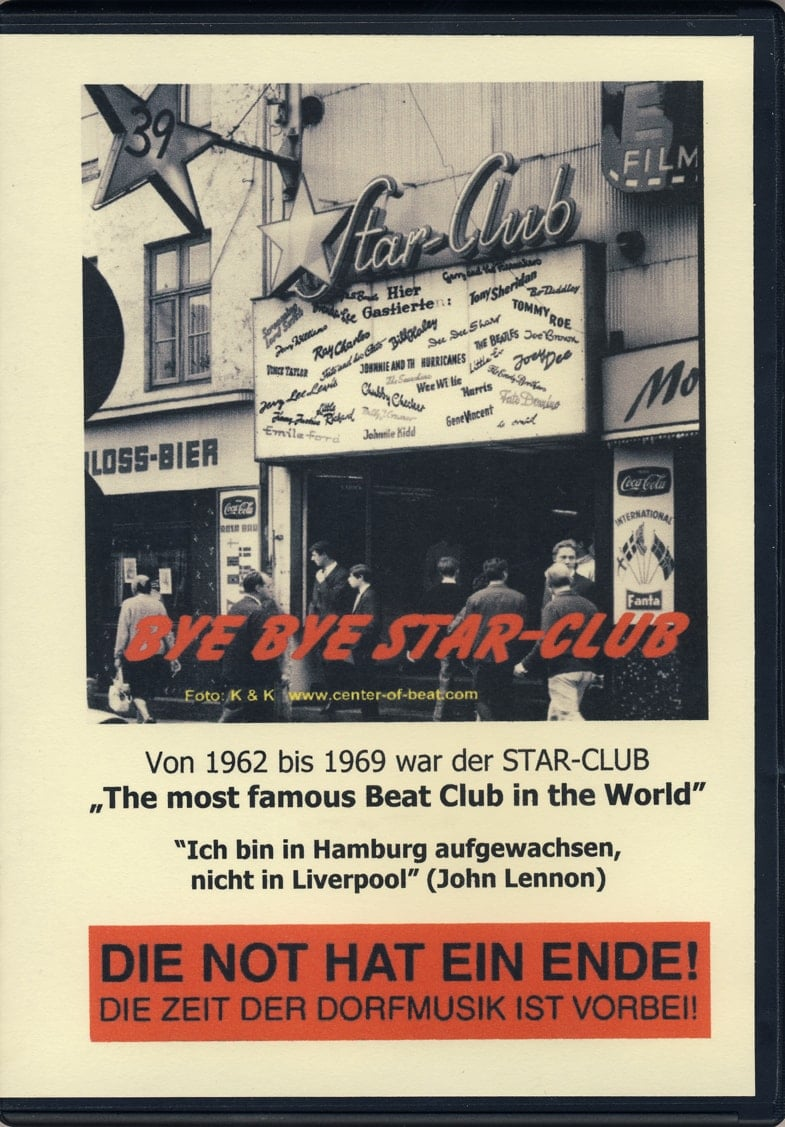 BEATLES: DVD - BYE BYE STAR-CLUB