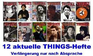 BEATLES: 12 THINGS-Hefte
