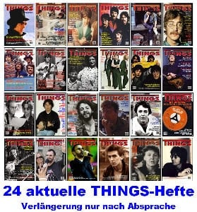 BEATLES: 24 THINGS-Hefte