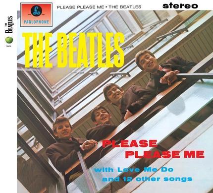 BEATLES: 2009er CD PLEASE PLEASE ME