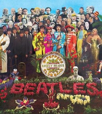 BEATLES: 2009er CD SGT. PEPPER'S LONELY HEARTS CLUB BAND