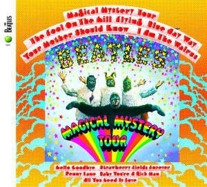 BEATLES: 2009er CD MAGICAL MYSTERY TOUR