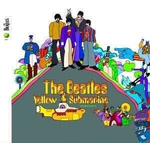 BEATLES: 2009er CD YELLOW SUBMARINE
