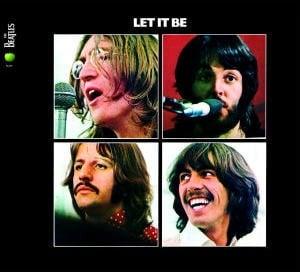 BEATLES: 2009er CD LET IT BE