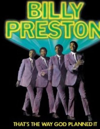 BILLY PRESTON: CD THAT'S THE WAY GOD PLANNED IT