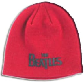 BEATLES: Wollmütze/Beanie Hat: Schriftzug THE BEATLES