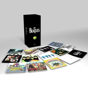 BEATLES: 2009er CD-Box (16 CDs & DVD) THE BEATES IN STEREO
