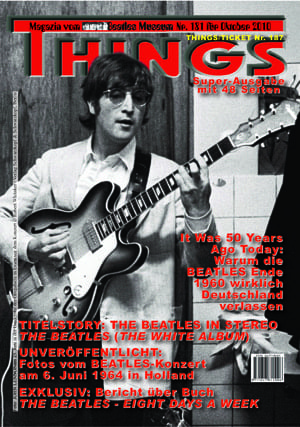 BEATLES: Fan-Magazin THINGS 181