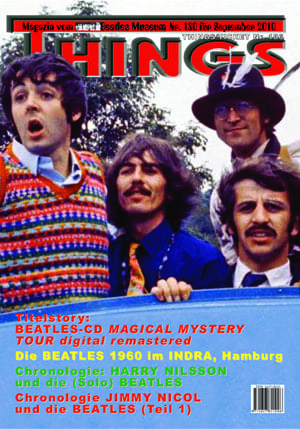 BEATLES: Fan-Magazin THINGS 180