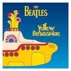 BEATLES: Aufkleber / sticker YELLOW SUBMARINE SONGTRACK COVER