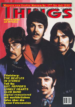 BEATLES: Fan-Magazin THINGS 177