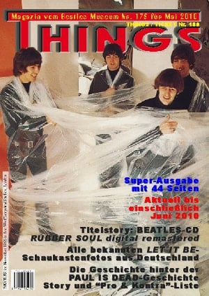 BEATLES: Fan-Magazin THINGS 175
