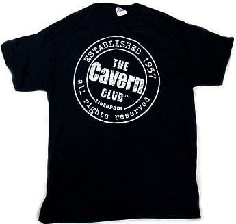 T-Shirt THE CAVERN - ESTABLISHED 1957, schwarz