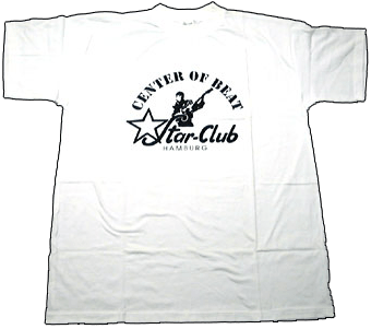 weißes T-Shirt STAR-CLUB CENTRE OF BEAT, weiß