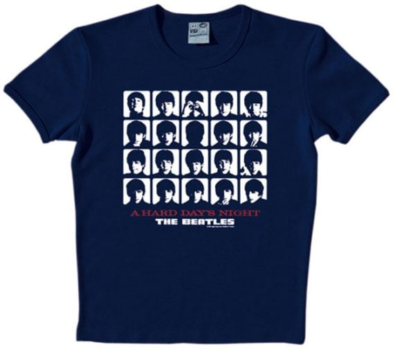 T-SHIRT A HARD DAY'S NIGHT COVER