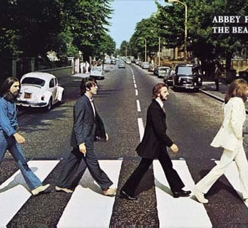 BEATLES: Poster ABBEY ROAD