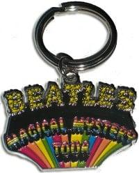 BEATLES: Schlüsselanhänger Logo MAGICAL MYSTERY TOUR