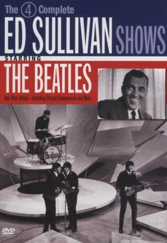 BEATLES: DVD THE 4 COMPLETE ED SULLIVAN SHOWS STARRING THE BEATL
