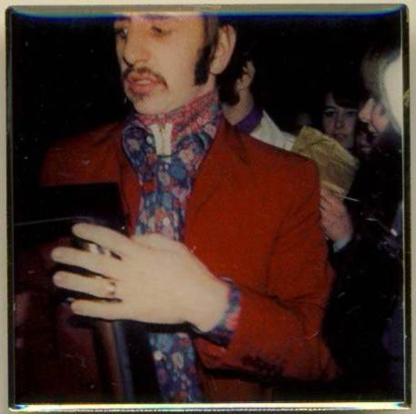 BEATLES Pin RINGO STARR 1967