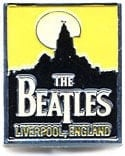 BEATLES Pin Schriftzug THE BEATLES - LIVERPOOL, ENGLAND