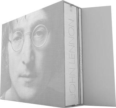 Box (2 Bücher, CD-Mappe) J. LENNON BOX OF VISION