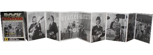BEATLES Leporello THE BEATLES BRAVO BLITZTOURNEE
