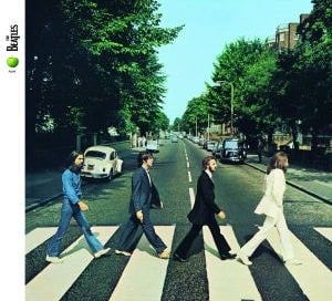 BEATLES: 2009er CD ABBEY ROAD