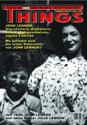 BEATLES: Fan-Magazin THINGS 182 LENNON-Sonderausgabe