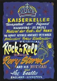BEATLES: Poster KAISERKELLER blau