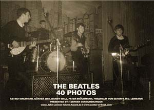 Poster: BEATLES 1962 im STAR-CLUB