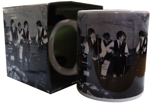 BEATLES: Kaffeebecher THE BEATLES IM CAVERN CLUB