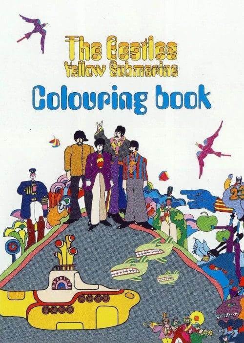 BEATLES Malbuch/Colouring Book YELLOW SUBMARINE
