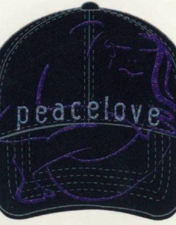 JOHN LENNON: Baseball Cap PEACE LOVE