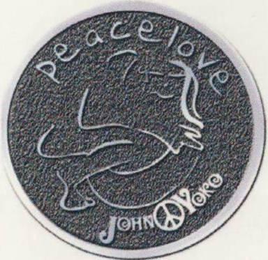 JOHN LENNON: Pin EMBRACE
