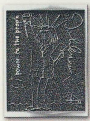 JOHN LENNON: Pin LIBERTY