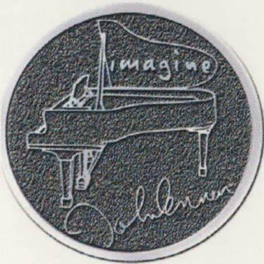JOHN LENNON: Pin PIANO