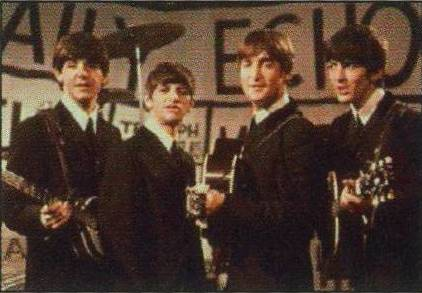 "BEATLES: Postkarte BBC ""Daily Echo"" 1964"
