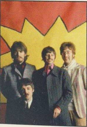 BEATLES: Postkarte 1967