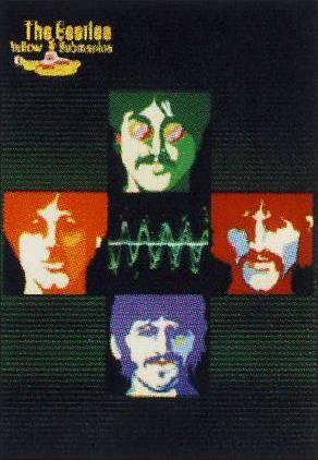 BEATLES: Postkarte YELLOW SUBMARINE Northern Song