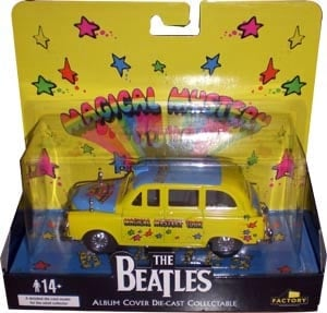 BEATLES: Taxi MAGICAL MYSTERY TOUR