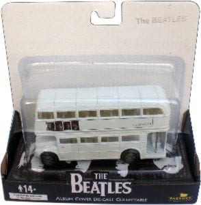 BEATLES: Routemaster Bus WHITE ALBUM