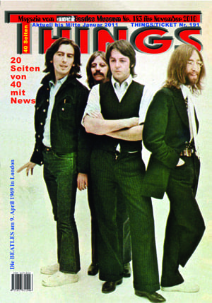 BEATLES: Fan-Magazin THINGS 183