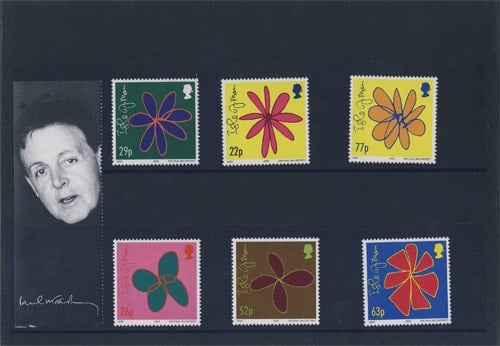 6 Briefmarken ISLAND OF MAN