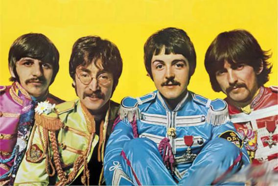 BEATLES: POSTER SGT. PEPPER BAND