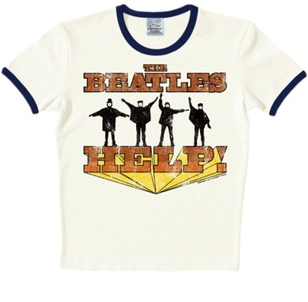 BEATLES T-Shirt US-Cover HELP!