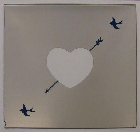 Ringo Starr Spiegel mit Bilderrahmen HEART