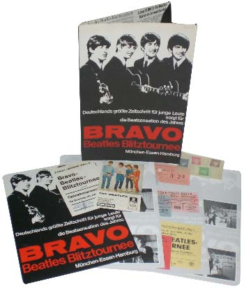 BEATLES: Souvenirmappe BRAVO BEATLES BLITZTOUR...