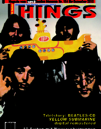 BEATLES: Fan-Magazin THINGS 184