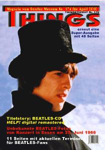 BEATLES: Fan-Magazin THINGS 174